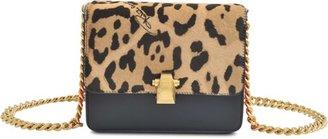 Roberto Cavalli Small Hera panther bag