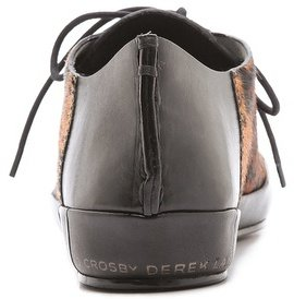 Derek Lam 10 Crosby Jo Lace Up Haircalf Sneakers