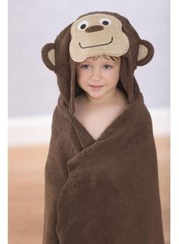 Carter's Monkey Towel