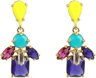Kate Spade Kaleidoscope Floral Drop Earrings (Multi) - Jewelry