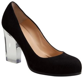 Ritch Erani NYFC clear heel pumps