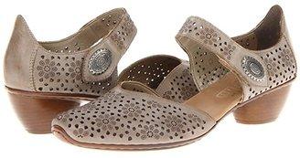 Rieker 43711 Mirjam 11 (Taupe) Women's 1-2 inch heel Shoes
