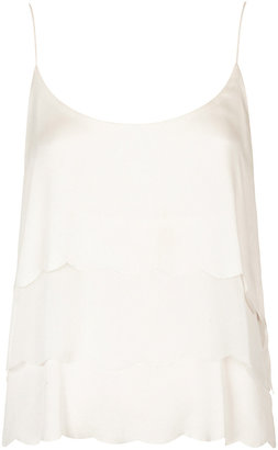 Kate Moss for topshop **scallop trim cami top