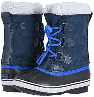 Sorel Yoot Pactm Nylon (Little Kid/Big Kid) (Collegiate Navy/Super Blue 1) Boys Shoes