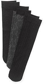 Relativity Python Trouser Socks Three-Pack