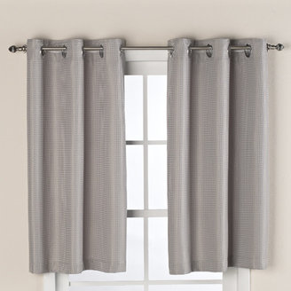 Bed Bath & Beyond Hookless® Waffle Window Curtain in Sage Green
