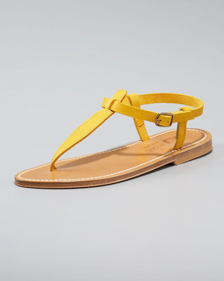 K. Jacques Slingback Thong Sandal