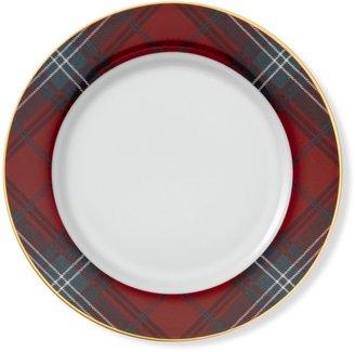 Williams-Sonoma Tartan Plaid Dinner Plate