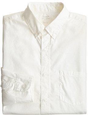 J.Crew Slim Secret Wash lightweight solid shirt