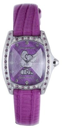 Hello Kitty Purple Stainless Steel Watch $110.25 thestylecure.com