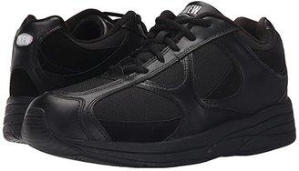 DREW Surge (Black Leather/Nubuck/Mesh) Men's Lace up casual Shoes