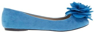 Timeless Out Blue Flat Shoes
