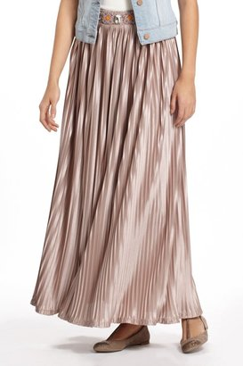Anthropologie Duchess Maxi Skirt