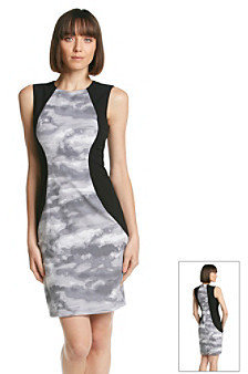 Calvin Klein Cloud Panel Sheath Dress