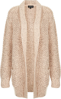 Topshop Knitted Shawl Collar Cardi