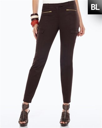 Chico's Black Label Sateen Ankle Pant