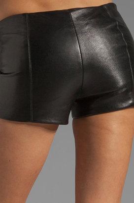Veda Lofi Leather Shorts