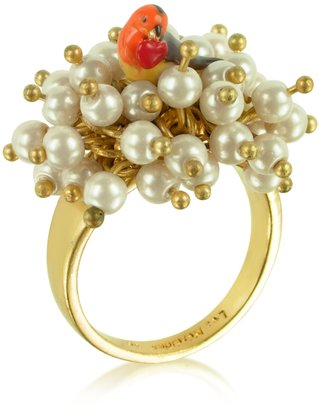 Les Nereides Sous le Chataignier - Robin and Flowers Ring