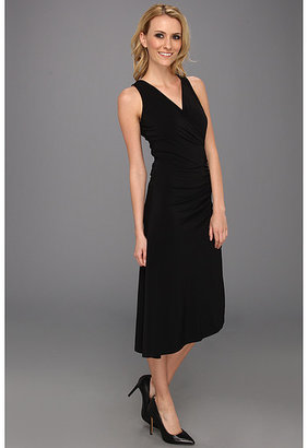 MICHAEL Michael Kors MJ Sleeve Chain Zip Asymmetrical Dress