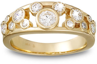 Disney Diamond Mickey Mouse Icon Ring for Women - 14K Yellow Gold