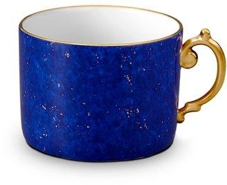 L'OBJET Lapis-Look Limoges Porcelain & 24K Gold Tea Cup