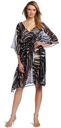 Echo Women's Palm Leaf Butterfly Cover Up