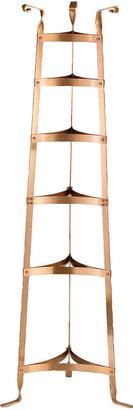 Old Dutch International Satin Copper 6-Shelf Cookware Stand