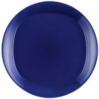 Rachael Ray Round and Square 4-Piece Salad Plate Set in Blue Raspberry