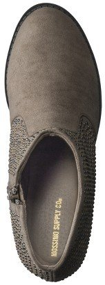 Mossimo Women's Kirstie Ankle Boot with Mini Studs - Taupe