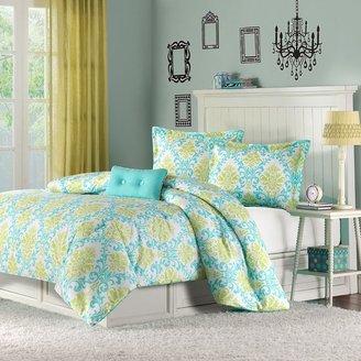Mi zone paige 4-pc. comforter set - full/queen