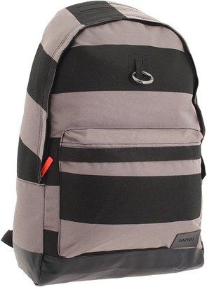 Nixon Principle Backpack (Black Stripe) - Bags and Luggage