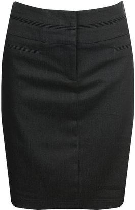 Forever 21 Light Denim Pencil Skirt