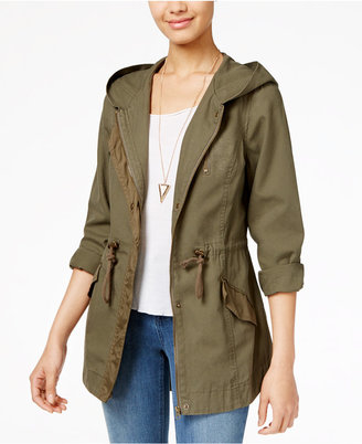 American Rag Hooded Utility Jacket, Only at Macy's $99.50 thestylecure.com