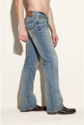 GUESS Falcon Classic Bootcut Jeans in Rank Wash, 30 Inseam