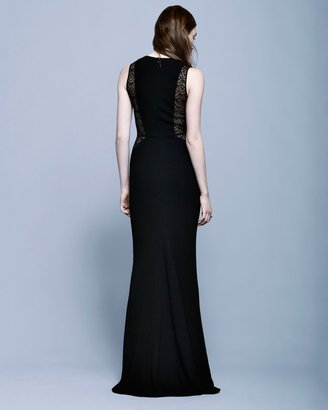 Intermix Exclusive For Carla Lace Cut Out Gown