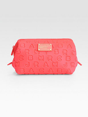 Marc by Marc Jacobs Dreamy Logo Stamped Cosmetic Case