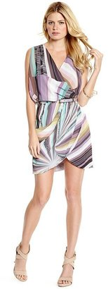 GUESS by Marciano Spectrum Wrap Dress