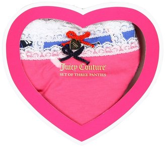 Juicy Couture Seaboard Panty Pack (Seaboard) - Apparel