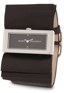 BCBGMAXAZRIA Plisse Watch