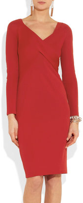 Donna Karan Stretch-crepe dress