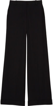 The Row Eldney twill wide-leg pants