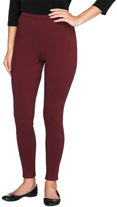 Women with Control Regular Fit Pull-on Knit Leggings