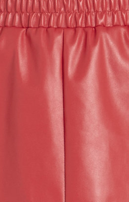 BCBGMAXAZRIA Laika Faux-Leather Miniskirt