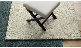 Crate & Barrel Alfredo Ivory Wool Rug