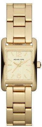 MICHAEL Michael Kors Michael Kors 'Taylor - Mini' Rectangular Bracelet Watch, 20mm x 22mm