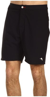 Tommy Bahama Deck Tech Swim Trunks (Black) - Apparel