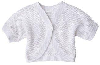 Cherokee® Infant Toddler Girls' Cropped Cardigan Sweater
