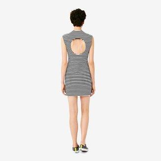 Kate Spade Saturday Circle-Back Slimster Ponte Dress in Stripe