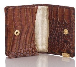 Brahmin Card Case Pecan Melbourne