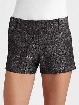 BCBGMAXAZRIA Bruna Metallic Shorts